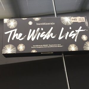"BareMinerals "" the wish list"" eyeshadow palette"